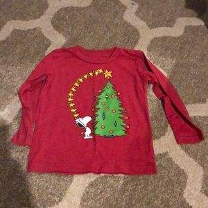 Jumping beans snoopy holiday shirt